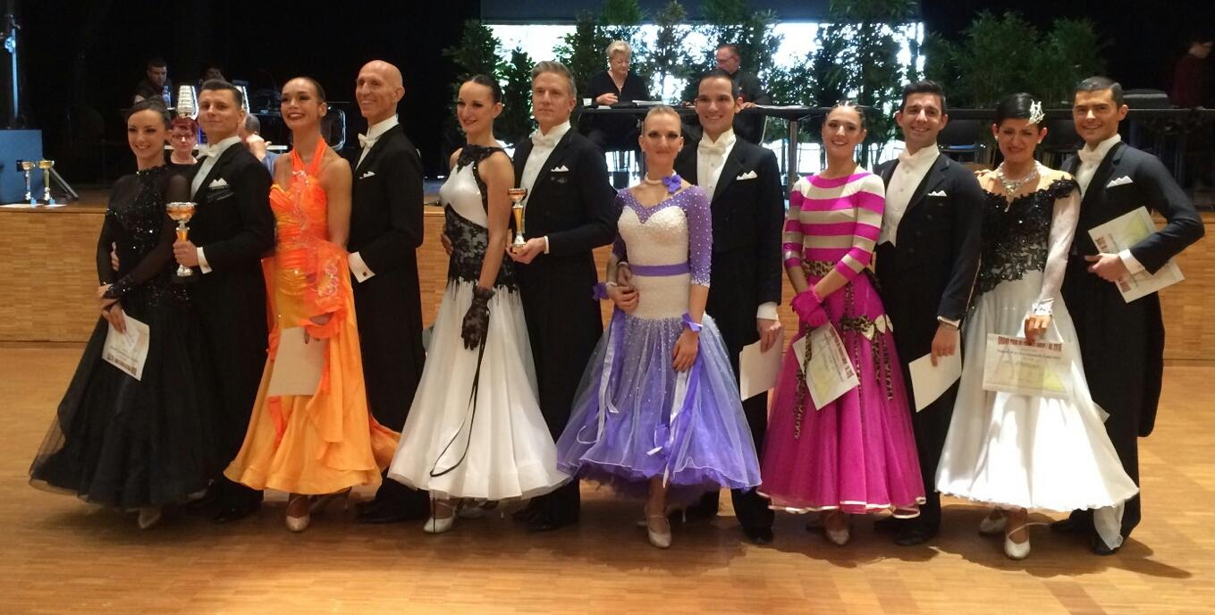 Line up Pawel et Anne Champions